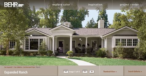 ranch home paint colors exterior sixprit decorps