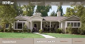 exterior house colors for ranch style homes exterior paint With interior paint colors for ranch style homes