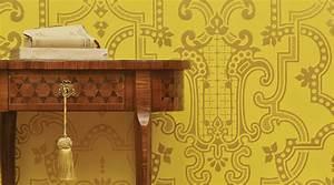 Papier Peint Art Deco : tendance papier peint quoi de neuf pour 2017 2018 ~ Dailycaller-alerts.com Idées de Décoration