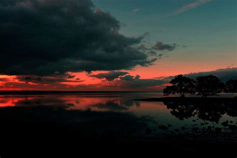 Australia Nature Sunrise Sky Wallpapers Hd Desktop