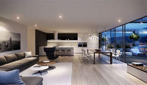 idee deco salon moderne peinture meubles  luminaires