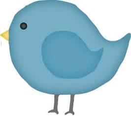 Cartoon Blue Bird Clip Art