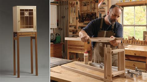 display cabinet   stand finewoodworking
