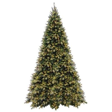 national tree company 12 ft tiffany fir medium artificial