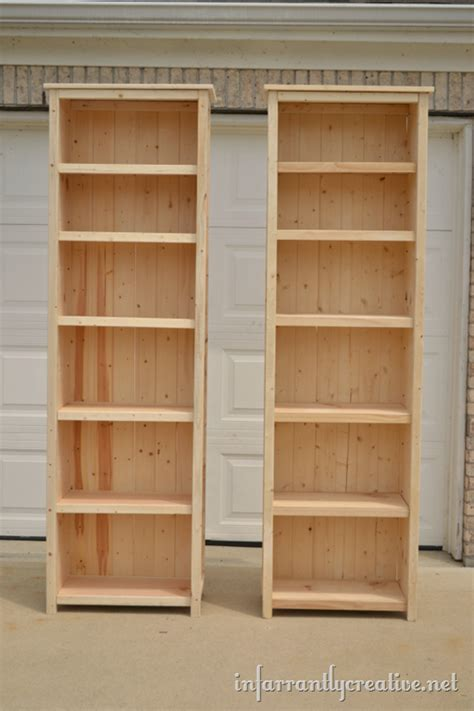 Build A Bookcase by How To Make Bookshelves Infarrantly Creative
