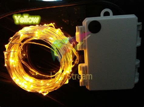 battery operated string lights with timer outdoor timer 10m 100 led 3aa battery powered led copper