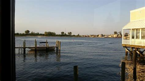 wharfside patio bar point pleasant beautiful view from our booth picture of baker s