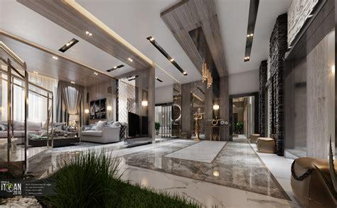 Luxusvilla Innen Wohnzimmer by Luxury Living Room Interior Design Villa
