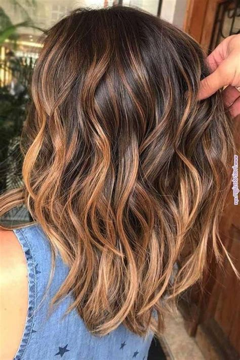 Brown Hair Pink Highlights