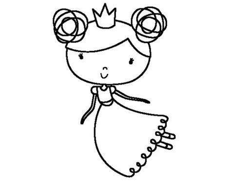Dibujo De Princesa Volando Para Colorear  Dibujos De