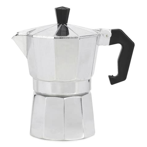 I take a look at how you can make a great cup of coffee using a stovetop espresso maker, or sometimes called a moka pot. Small Aluminum Alloy Mocha Coffee Maker Pot w/ Black Handle, Stovetop Espresso Maker - Walmart ...