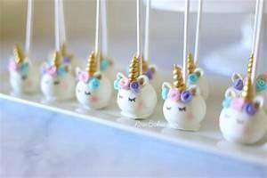 Pastel Watercolors Unicorn Cake and Unicorn Cake Pops