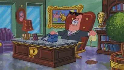 Squidward Patrick Gfycat Gary Starfish Gifs Spongebob
