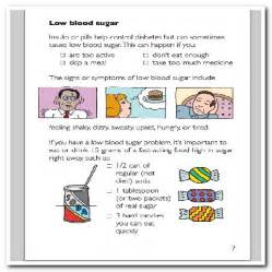 Signs of Low Blood Sugar