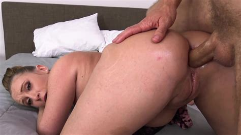 Harley Jade Spreads Her Virgin Ass For Her First Hardcore