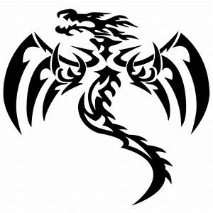 Drachen Schwarz Weiß : tribal sticker aufkleber ~ Orissabook.com Haus und Dekorationen