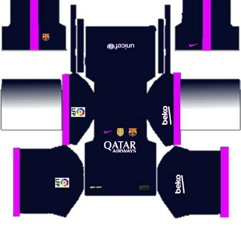 Barcelona UCL Kits 2017/2018 Dream League Soccer - Barcelona...