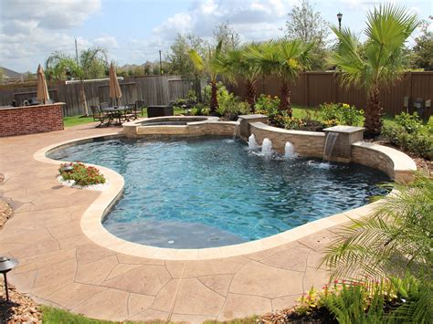 Contemporary Swimming Pools Design 116 — Custom Outdoors