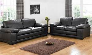 Black Leather Sofa Sets Will Add New Look To Living Room