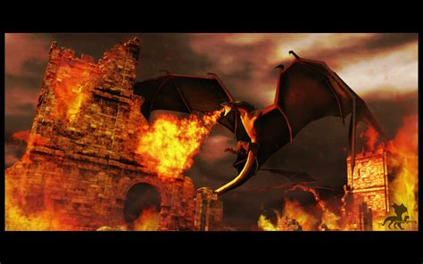 Reign Of Fire By Sarquindi On Deviantart