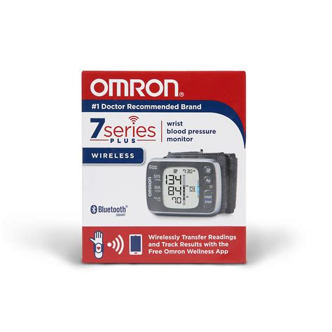 Amazon.com: Omron 7 Series Bluetooth Wireless Wrist Blood