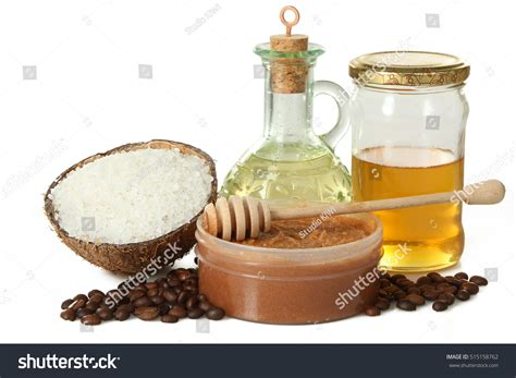 Want to use coconut oil for face glow? Body Scrub Ground Coffee Honey Coconut Stock Photo 515158762 - Shutterstock
