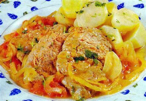recette de cuisine familiale tasca da elvira escalopes de porc aux oignons