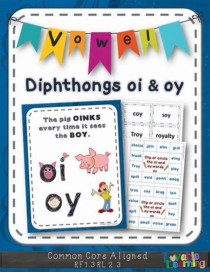 Oi Oy Diphthongs Vowel Phonics Activity Teaching