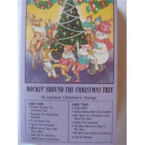 christmas tree songs for preschoolers various rockin around the christmas tree 14 upbeat 8795