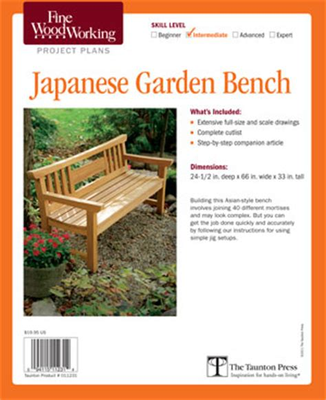 woodworking plans japanese garden bench plan pdf plans