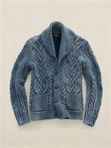 Ralph Lauren Cable Knit Cardigan Sweater