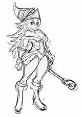 Magician Dark Sketch Maniacpaint Deviantart Anime Manga Fan sketch template