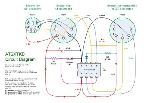 Wiring Diagram For Computer Mouse by Ps 2 Pinout Diagram Wiring Schematic Diagram