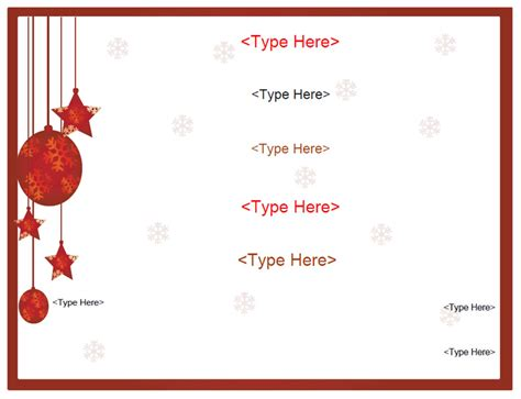 holiday free gift certificate template word