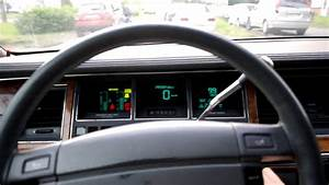Lincoln Town Car 1994 Startup  U0026 Driving In Russia  St