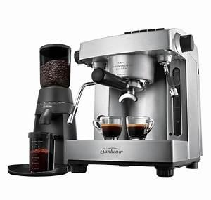 Machine A Cafe : sunbeam cafe series espresso em6910 pu6910 reviews ~ Melissatoandfro.com Idées de Décoration