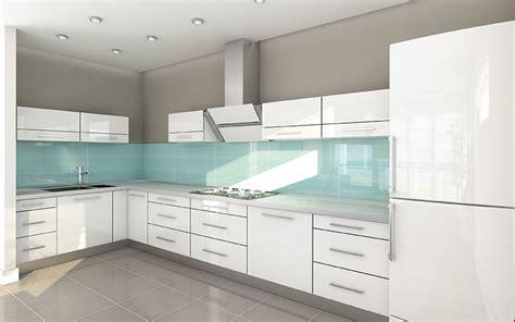 green tile kitchen backsplash contemporary kitchen high gloss acrylic white cabinets