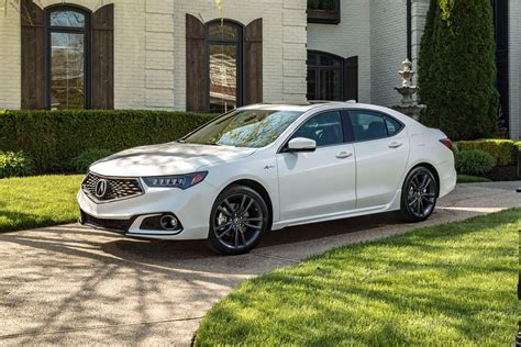 2019 Acura Tlx Adds Sportier Aspec Styling For I4 Models