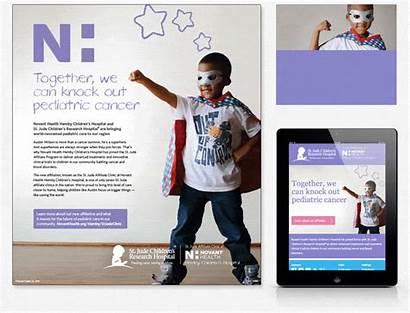 Advertising Marketing Jude St Pediatric Campaign Hospital