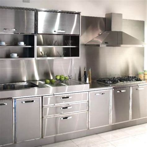olympia modular stainless steel kitchen cabinet rs