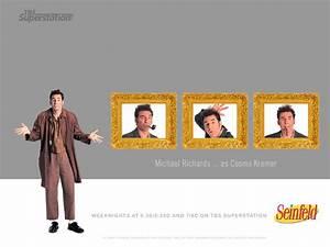 My Free Wallpapers - Movies Wallpaper : Seinfeld - Kramer