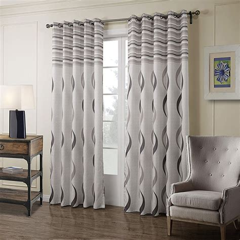 retro gray quality farmhouse style curtains  living
