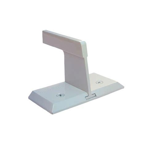 nightlock white sliding patio door security lock 13005