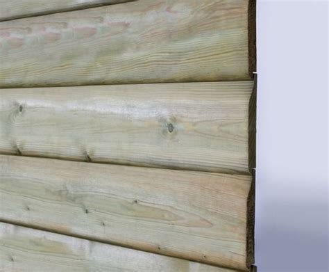 Softwood Shiplap Cladding by Q Garden 174 Pre Treated Timber Shiplap Cladding Hoppings