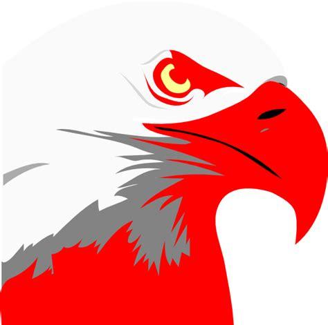 red eagle clip art  clkercom vector clip art
