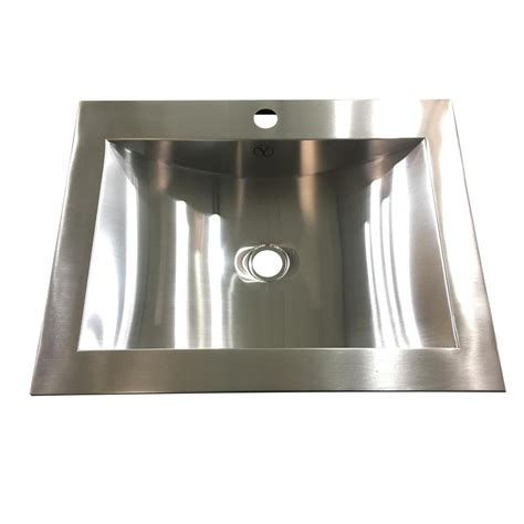 Steel Bathroom Sink by Y Decor Hardy 16 5 In Undermount Bathroom Sink In