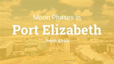 moon phases  lunar calendar  port elizabeth