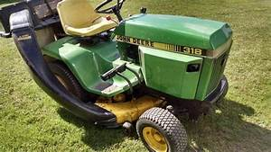 1985 John Deere 318 Lawn  U0026 Garden And Commercial Mowing