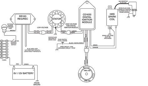 Ducati 200 Wiring Diagram by Stator Kit For Ducati 125cc 160cc 175cc 200cc 250cc Narrow