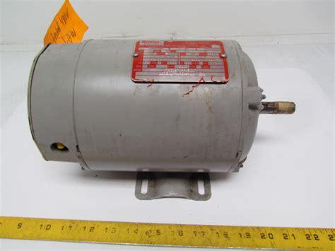 Elec Motors by Lincoln Elec 2j8227 Electric Motor 3 4hp 1750 Rpm 220